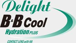 定期更換 Delight B&B Cool HydrationPLUS 隱形眼鏡