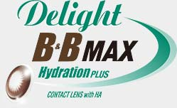 定期更換 Delight B&B MAX HydrationPLUS 隱形眼鏡