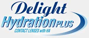 定期更換 Delight HydrationPLUS 隱形眼鏡