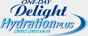 ONE-DAY Delight HydrationPLUS 每日即棄隱形眼鏡